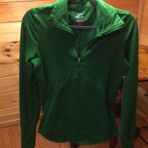 Kelly Green Nike Dri-Fit Jacket